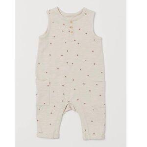Infant star romper